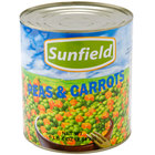 Sweet Peas and Diced Carrots - #10 Can - 6 / Case