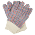 Shoulder Leather Clute Cut Leather Gloves with Palm Patch - Large - 12/Pack