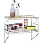 Metro Erecta 12WS12C 12 inch x 24 inch Chrome Shelf Wall Kit