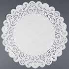 8 inch Lace Normandy Grease Proof Doilies 500 / Pack