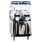 Bunn Ultra-2 HP High Performance Slushy / Granita Frozen Drink Machine with 2 Hoppers - Black & Stainless Steel - 120V (Bunn 34000.0081)