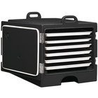 Cambro 1826MTC110 Camcarrier Black Front Loading Insulated Tray / Sheet Pan Carrier for Full Size Pans
