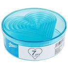 Ateco 5751 7-Piece Polycarbonate Plain Heart Cutter Set (August Thomsen)