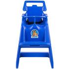 Koala Kare KB103-04 Blue Classic High Chair with Wheels