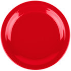 Carlisle 4350305 Dallas Ware 7 1/4 inch Red Melamine Plate - 48/Case