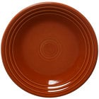 Homer Laughlin 466334 Fiesta Paprika 10 1/2 inch Plate - 12/Case