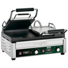 Waring WFG300T 17 inch x 9 1/4 inch Tostato Ottimo Smooth Top & Bottom Dual Panini Sandwich Grill with Timer - 240V