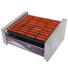 APW Wyott HRDi-50S X*PERT Digital Hotrod 50 Hot Dog Roller Grill - 30 1/2 inch Flat Top