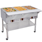 APW Wyott PSST4 Portable Steam Table - Four Pan - Sealed Well