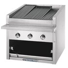 Bakers Pride C-24GS 24 inch Glo Stone Charbroiler - 90,000 BTU