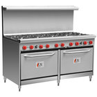 Cooking Performance Group 60-CPGV-10B-S26 10 Burner 60