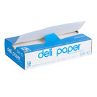 Durable Packaging 10 inch x 10 3/4 inch Interfolded Deli Wrap Wax Paper