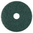 Scrubble by ACS 73-10 10 inch Emerald Hy-Pro Stripping Floor Pad - Type 73 - 5/Case