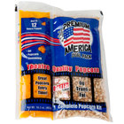 Great Western Premium America All-In-One Popcorn Kit for 12 oz. to 14 oz. Popper - 24/Case