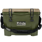 Olive Green 16 Qt. Extreme Outdoor Grizzly Merchandiser / Cooler