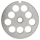 Hobart 12PLT-3/8C #12 3/8 inch Carbon Steel Grinder Plate for 4812 Meat Choppers and Chopping Ends