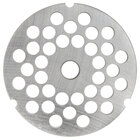 Hobart 3246PLT-3/8C #32 3/8 inch Carbon Steel Grinder Plate for 4146, 4246, 4732, MG2032, and MG1532 Meat Grinders / Choppers