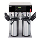 Curtis D1000GT63A000 14 3/4 inch Twin Airpot Coffee Brewer - 120/220V