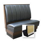 American Tables & Seating AS-426-Wall 6 Channel Back Upholstered Wall Bench - 42 inch High