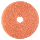 Scrubble by ACS 36-19 19 inch Pink Burnishing Floor Pad - Type 36 5 / Case