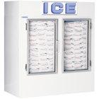 Polar Temp 670CWG Two Door Cold Wall Indoor Ice Merchandiser - 65 cu. ft.