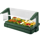 Cambro BBR720519 Green 6' Buffet / Salad Bar with Sneeze Guard