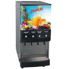 Bunn 37300.0002 JDF-4S 4 Flavor Cold Beverage Juice Dispenser with Cold Water Tap