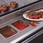 Bakers Pride 21887222/21880570 12 inch Stainless Steel Work Deck
