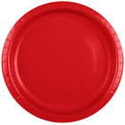 Creative Converting 501031B 10 inch Classic Red Paper Plate - 240/Case