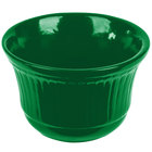 Tablecraft CW1453GN 16 oz. Green Cast Aluminum Condiment Bowl