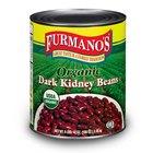 Furmano's Organic Dark Kidney Beans in Brine #10 Can
