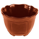 Tablecraft CW1454CP 1.3 Qt. Copper Cast Aluminum Round Condiment Bowl