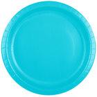 Creative Converting 501039B 10 inch Bermuda Blue Paper Plate - 240/Case