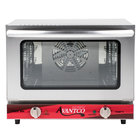 Avantco CO-14 Quarter Size Countertop Convection Oven, 0.8 Cu. Ft. - 120V