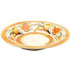 Elite Global Solutions D1012 Tuscany 18 oz. Design Melamine Soup / Pasta Bowl