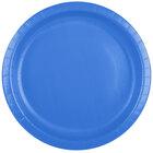 Creative Converting 50145B 10 inch True Blue Paper Plate - 240/Case
