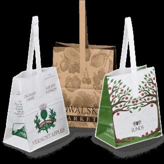 Custom Market Bags