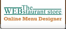 WEBstaurantStore.com Online Menu Designer