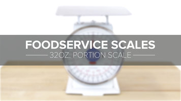 32oz. Portion Scale