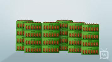 Avantco JBC65 Beer Bottle Cooler