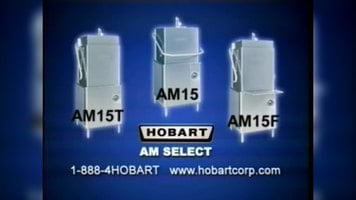 Hobart AM15 Select Dishwashers