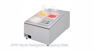 APW Wyott Refrigerated Topping Well
