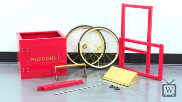 How to Assemble a Carnival King Popcorn Cart