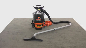 Review of the Hoover Commercial Back Pack Vacuum Cleaner