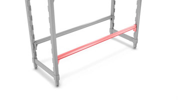 Cambro Camshelving Premium Series: Traverse Fence Assembly