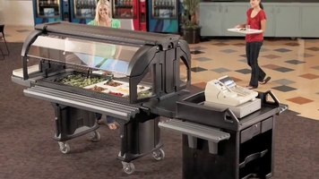 Cambro Versa Food Bar for Schools