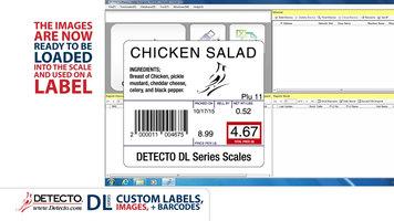Cardinal Detecto DL Series Scales: Custom Labels