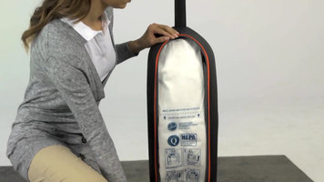 Replacing the Bag on the Hoover Hush Tone Lite Vacuum Cleaner