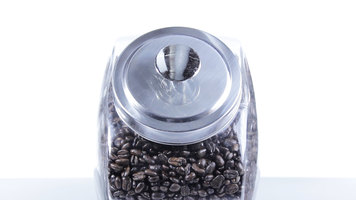 Core 1 Gallon Glass Penny Jar With Chrome Lid