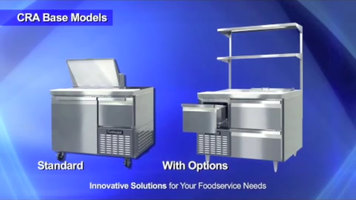 Continental Refrigerator: Worktops, Undercounters, and Sandwich Units